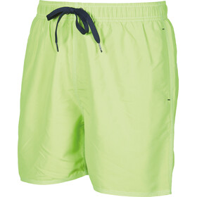 arena Fundamentals Solid Zwemboxers Heren, shiny green-navy